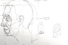 Workshop Angebot (Termine): Porträt zeichnen lernen.Teil 5: Kopf im Profil