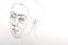 Workshop Angebot (Termine): Porträt zeichnen lernen. Teil 6: Kopf geneigt