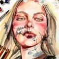 Workshop Angebot (Termine): Porträt zeichnen und malen lernen. Teil 7: Porträt in Farbe