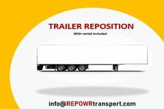 Repositioning with Rental Opportunity: (4) Trailers Available for 2 Weeks | RENTAL / REPOSITIONING