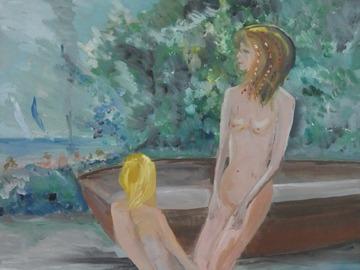 Sell Artworks: confidences au bain