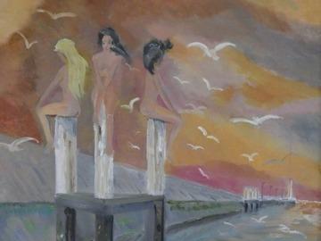 Sell Artworks: Les filles du Duc