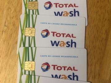 Vente: Cartes Total Wash (100€)