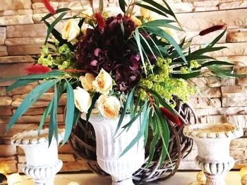 Hääpalvelut: Hääkukat/kukkasidonnat/kukkakurssit