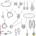 Liquidation/Wholesale Lot: Buy One Get One Free! 150 pc Swarovski Jewelry Sale 2 days only !