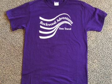 Selling multiple of the same items: Rockwood Adventures Teen Travel T-shirt