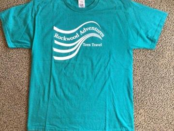 Selling A Singular Item: Rockwood Adventures Teen Travel T-shirt