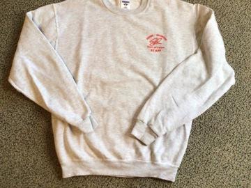 Selling A Singular Item: Sesame Rockwood Hall of Fame Staff Sweatshirt