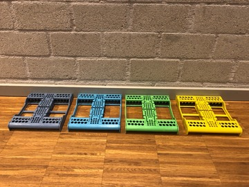 Gebruikte apparatuur: Zirc cassettes (voor 10 instrumenten) gebruikt