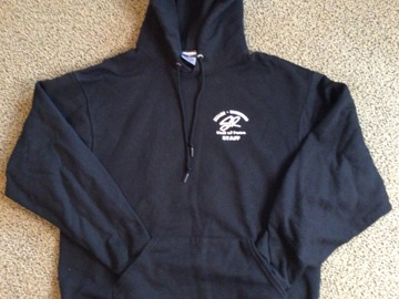 Selling A Singular Item: Sesame Rockwood Hooded Pullover Hall of Fame Staff Sweatshirt