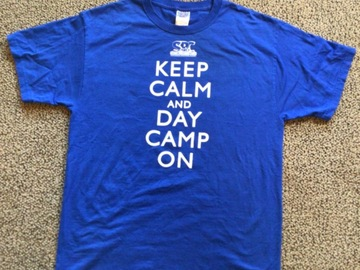 Selling A Singular Item: Sesame Rockwood Camp T-shirt