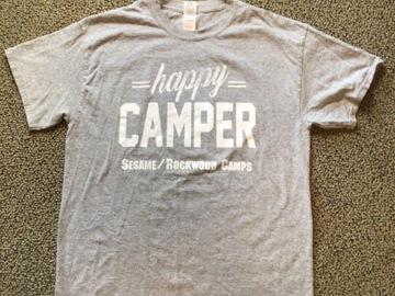 Selling A Singular Item: Sesame Rockwood Happy Camper T-shirt