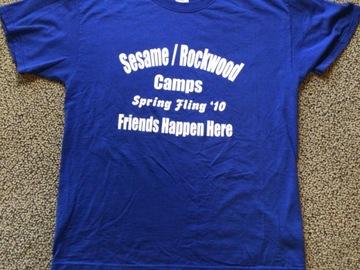 Selling A Singular Item: Sesame Rockwood VINTAGE 2010 Spring Fling T-shirt