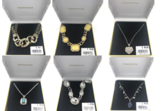 Liquidation/Wholesale Lot: 50 Boxed Charter Club by Macy's Necklaces Pre priced retail$48.99