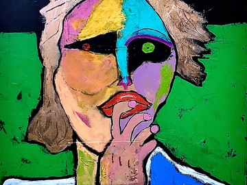 Sell Artworks: Figure in Green