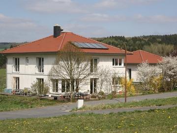 Tauschobjekt: Traumhaftes Öko-Haus (2 Häuser), Westerwald (Raum K/BN/KO)