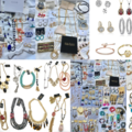 Liquidation/Wholesale Lot: 10 lbs Overstock Box Of Brand Name Jewelry - All Brand New