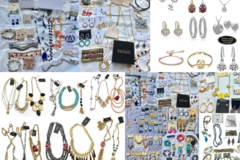 Liquidation/Wholesale Lot: 20 lbs Overstock Box Of Brand Name Jewelry - All Brand New