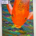 """Selling with online payment: """"Tiger Lily"""" acrylic painting"""