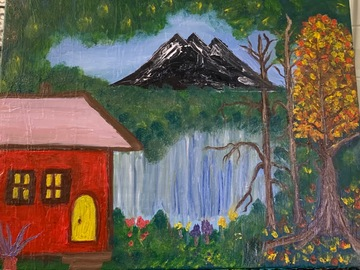 Sell Artworks: Red Barn