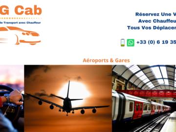Offre: Transfert Aéroports & Gares