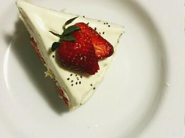 Selling: Strawberry Sponge Cake