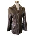 For Sale: Vintage Bisonte Leather Coat