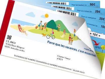 Vente:   Chèques vacances ANCV (600€)