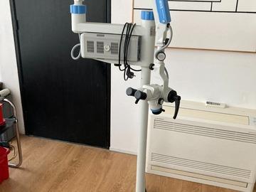 Gebruikte apparatuur: Optomic dental microscoop