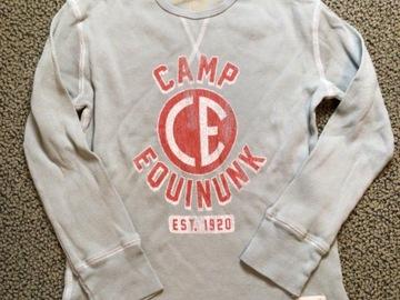 Selling A Singular Item: Camp Equinunk Waffle knit long sleeved shirt