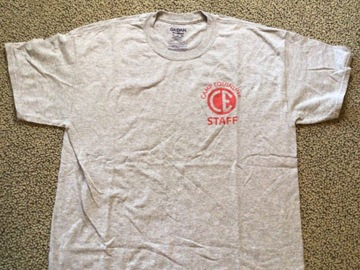 Selling multiple of the same items: Camp Equinunk Staff T-shirt
