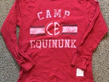 Selling A Singular Item: Camp Equinunk Long Sleeved T-shirt
