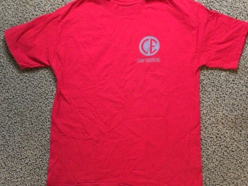 Selling multiple of the same items: Camp Equinunk Camp T-shirt Size Youth Large