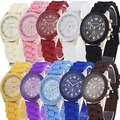 Liquidation/Wholesale Lot: 10 Assorted  Silicone Wristwatch