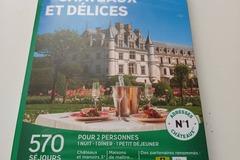 """Vente: Coffret Wonderbox """"Châteaux et délices"""" (149,90€)"""