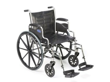 """SALE: Invacare Tracer EX2 Wheelchair   18""""x16""""   Desk-Length Arms"""