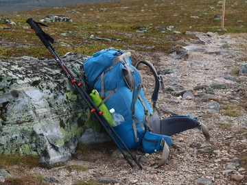 Renting out (per day): Exped Lightning 45
