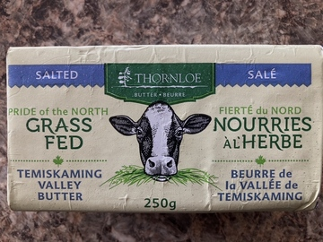Selling Without Online Payment: Butter - Grass Fed Butter