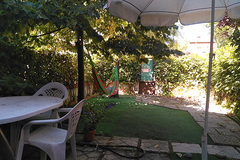 Renting with online payment: Jardín 50 m2