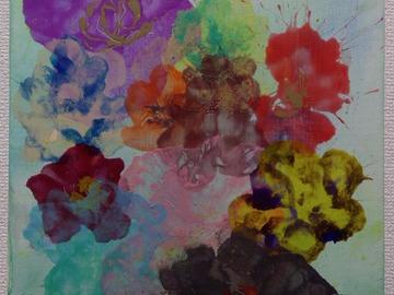 Sell Artworks: Flower lovers