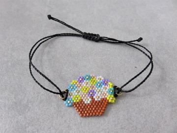 Vente au détail: Bracelet tissé en perles miyuki ZOE