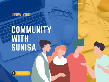 Pay per day: Be your community manager