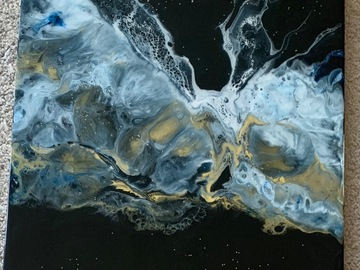 Sell Artworks: Galaxy Golden waves