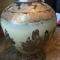 Rentals : CHINESE VASE with gold