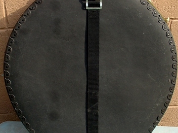 """Selling with online payment: SOLD- HUMES & BERG 22"""" fiber cymbal case. -SOLD"""