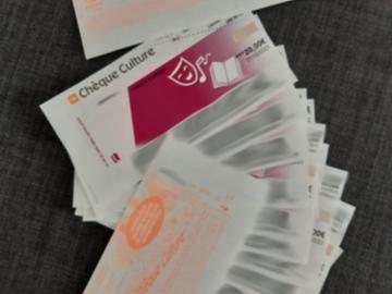 Vente: Chèques culture Up (200€)