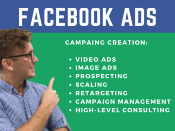 Pay per month: Create Ads and manage your Facebook Ads account