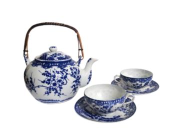 Vente: Théière et tasses japonaises