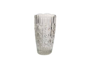 Vente: Vase en verre décoré