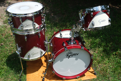 Show Off Your Drums! (no sales): Gretsch Renown 57 Motor City Red 4 Piece Drum Set Great Condition